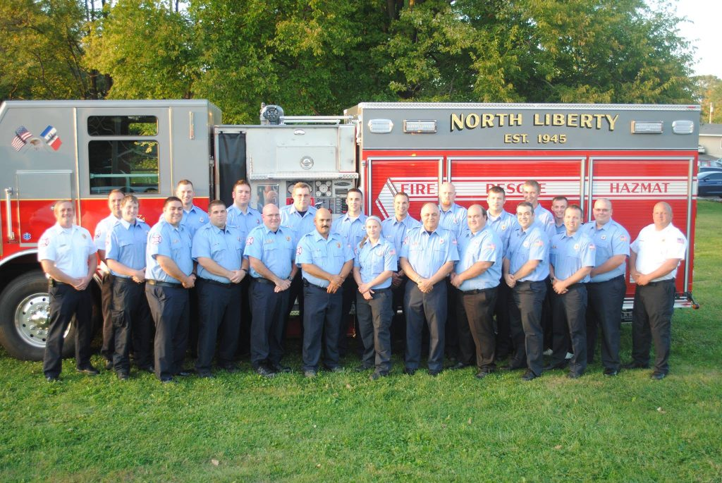 North Liberty Fire Department Our Team Our Mission Vision And