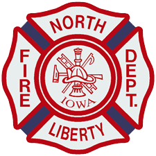 North Liberty Fire Department Retina Logo
