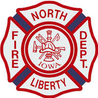 North Liberty Fire Department Mobile Retina Logo