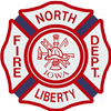 North Liberty Fire Department Mobile Logo